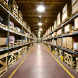Warehouse Interior - Foto Stock