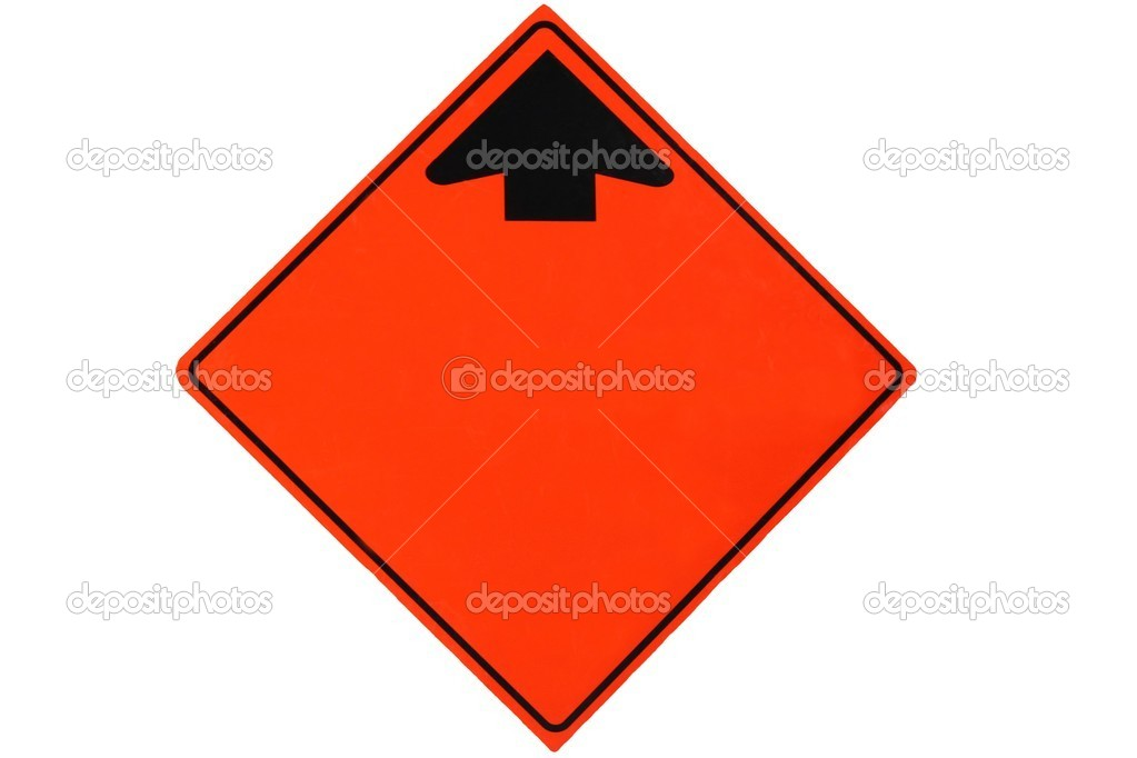 Blanked road sign for your text — Stock Photo #2305872