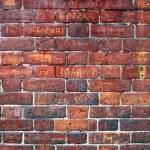 Graffiti Filled Red Brick Wall. — Stock Photo #2322896