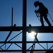 Construction Worker. — Stock Photo