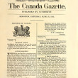 Very old Canadian newspaper. — Zdjęcie stockowe