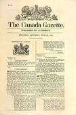 Very old Canadian newspaper. — 图库照片