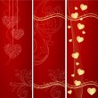 Stock Vector: Valentines background.