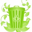 Ecorecycling consept — Stock Vector