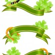 Royalty-Free Stock Vector Image: Good luck, st.Patrick\'s day banner