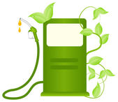 Ecofuel consept — Stock Vector