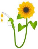 Biofuel consept — Stock Vector