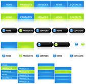 Web template — Stock Vector