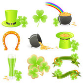 St. Patrick's Day symbols — Stock Vector