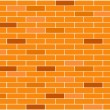 Royalty-Free Stock Vector Image: Brick seamless