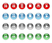Musical buttons — Stock Photo