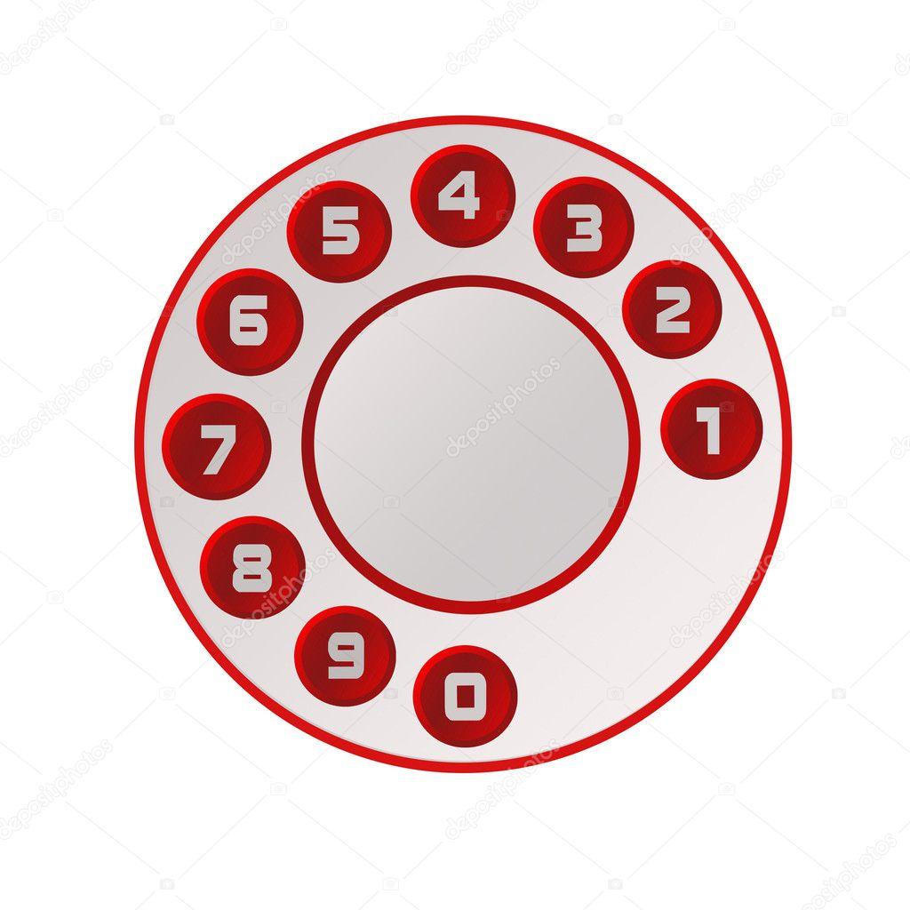 диск телефона - фото 11
