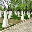 Soviet Military Cemetery — Stock Photo