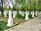 Soviet Military Cemetery — Stock Photo