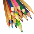 Color pencils isolated on a white — Stock Photo #2081873