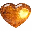 3D golden heart classic love symbol — Stock Photo #2087160