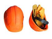 Dvě helmy s palčáky — Stock fotografie