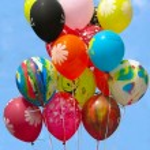 Group of colorful celebration — Stock Photo