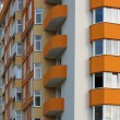 Just finished new apartment house detail — Stock Photo