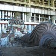 Steam turbine during repair — Stock Photo