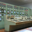 Stock Photo: Control panel at electric power plant