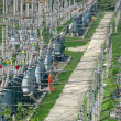 The electric high-voltage transformers — Stock Photo #2257467