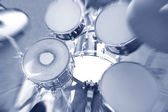 Drums conceptual image. — Stock Photo
