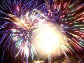 Fireworks conceptual image. — Stock Photo