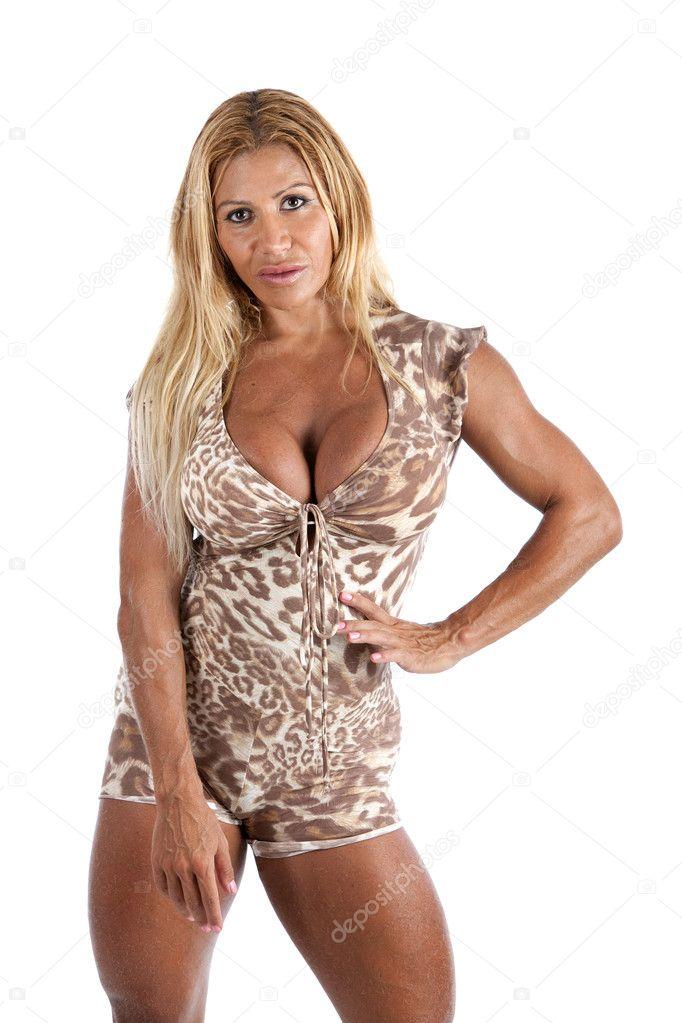 Weibliche Bodybuilder