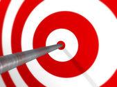 Arrow on Target — Stock Photo
