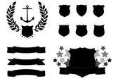 Vector Badges — Stock Vector