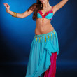 Belly dance girl - Stock Photo