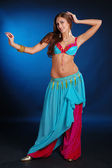Belly dance girl — Stock Photo