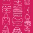 Royalty-Free Stock Vector Image: Hand drawn bags