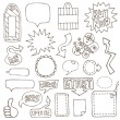 Hand drawn design elements - 