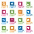 Royalty-Free Stock Vector Image: Computer icons