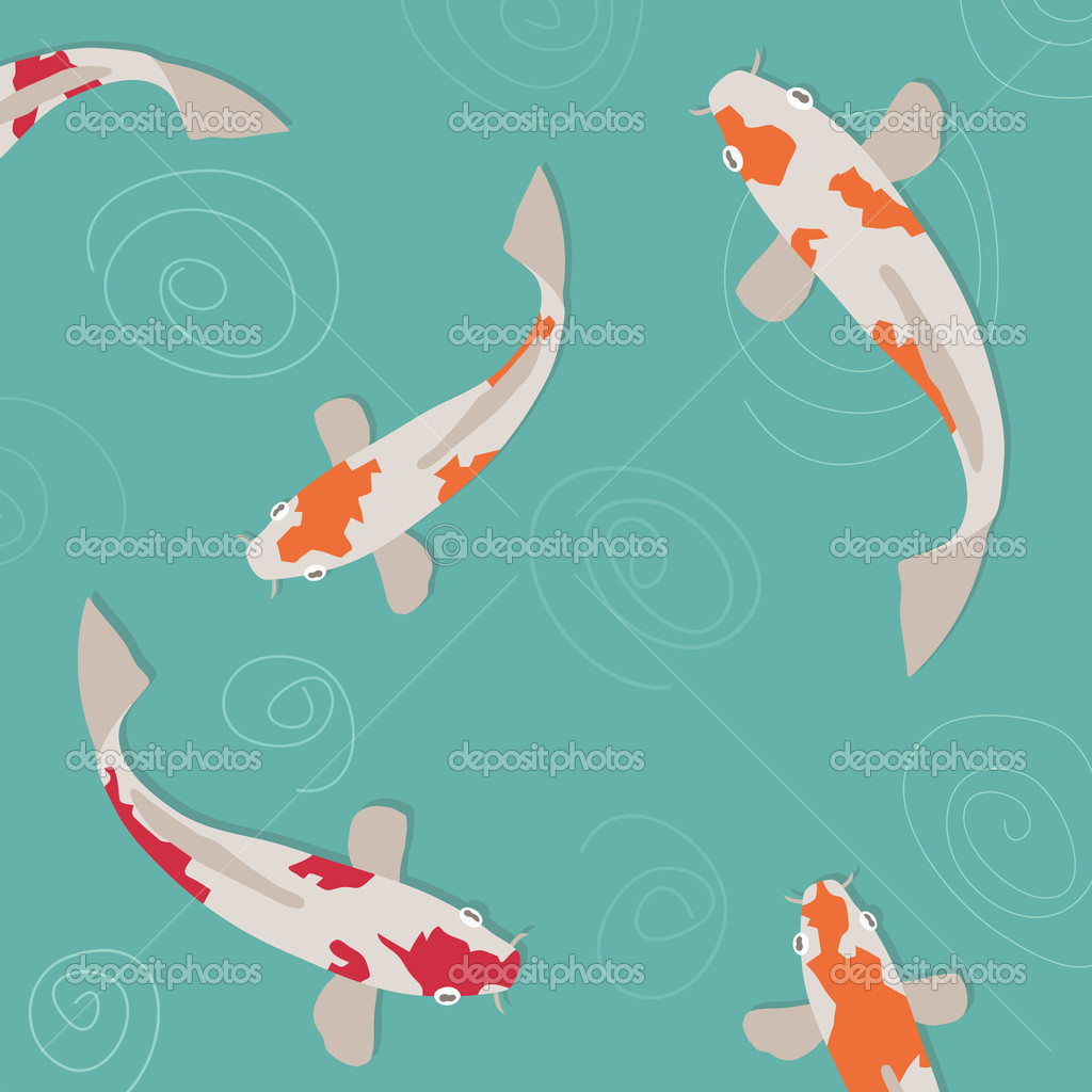 Koi carp stock vector mattasbestos 2139433 for Koi fish vector