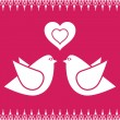 Bird love — Stock Vector #2142971