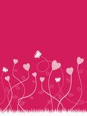 Valentine krajina — Stock vektor