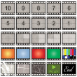 Film strip — Stok Vektör #2215632