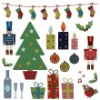 Christmas objects — Stock Vector #2216028