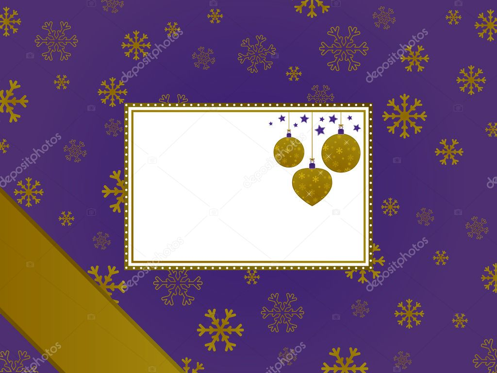 Amazing Purple and gold christmas frame - Stock Illustration 1024 x 768 · 878 kB · jpeg