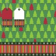 Royalty-Free Stock Vector Image: Christmas tree wrapping