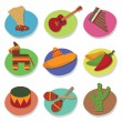 Royalty-Free Stock Vector Image: Mexican icons