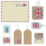 ������, ������: British postage