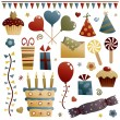 Stock Vector: Party decorations