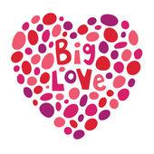 Большая любовь — Cтоковый вектор