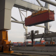 Container terminal - Foto Stock