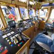 The wheelhouse of a fire boat — Stock Photo #2077597