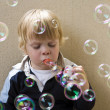 Blowing bubbles — Stock Photo #2089182